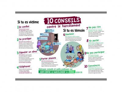Extrem 10 conseils contre le harcèlement - Collège La Fontaine Margot  UC95